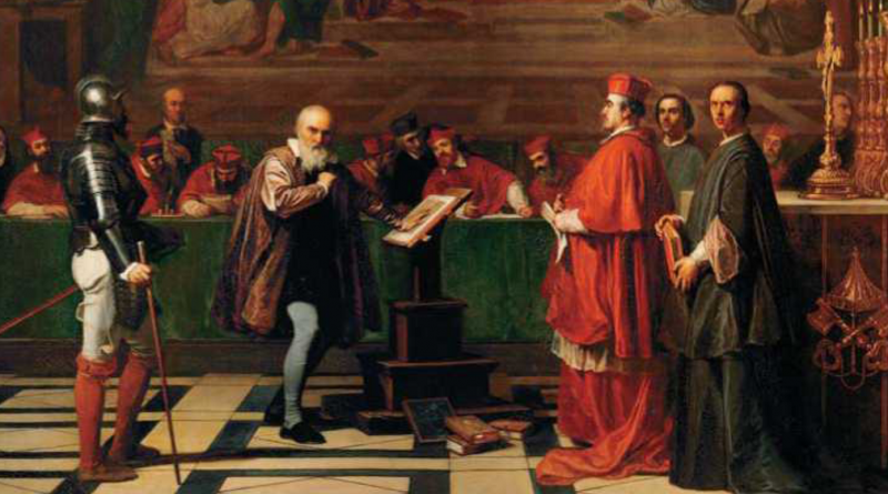 Galileo before the Holy Office (1847)