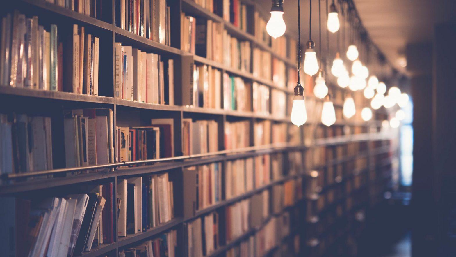 books in a shop